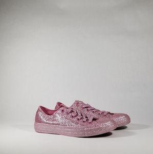 NEW Converse All Star Pink Glitter